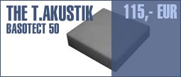 the t.akustik Basotect 50 100/100 Gray 4pcs