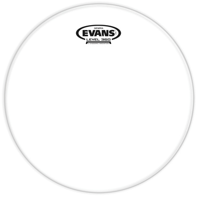 "Evans 10"" Resonant Head Tom Clear"