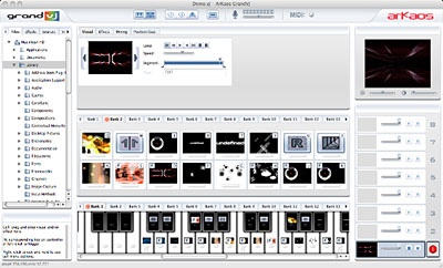 ArKaos Grand VJ Software PC & Mac