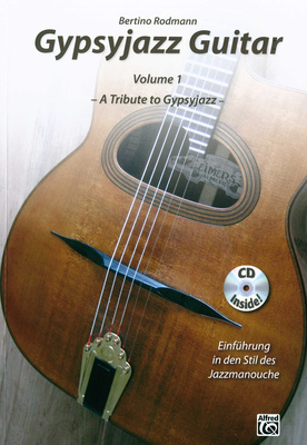Alfred Music Publishing Gypsyjazz Guitar Vol.1