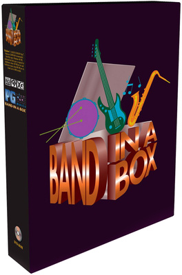 PG Music Band-in-a-Box Pro PC G