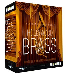East West QL Hollywood Brass Diamond W