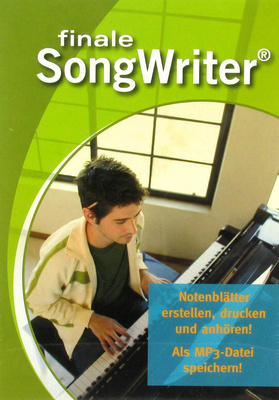 MakeMusic Finale Songwriter 2012 (D)