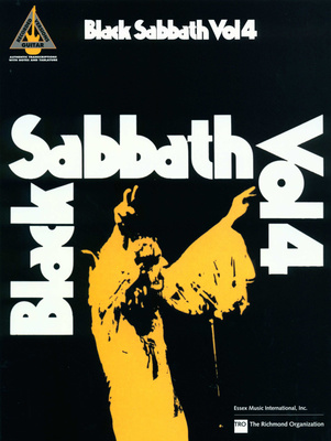 Hal Leonard Black Sabbath Vol.4