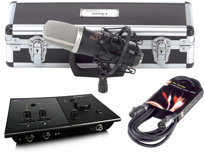 M-Audio Fast Track C400 Bundle